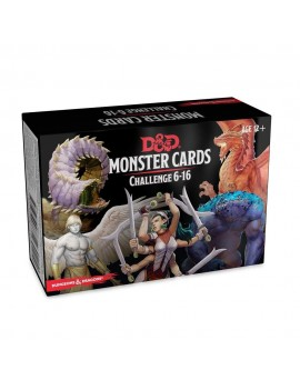 Dungeons & Dragons Spellbook Cards: Monsters 6-16 Deck *English Version*