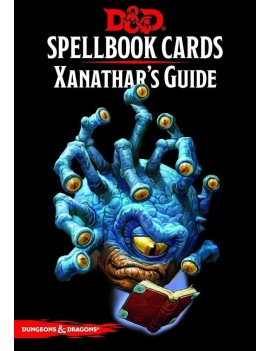 Dungeons & Dragons Spellbook Cards: Xanathars Deck *English Version*