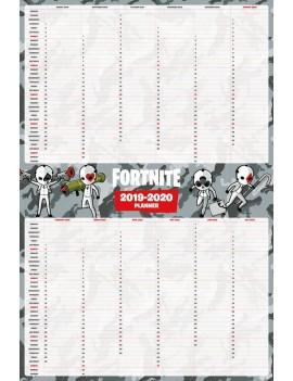 Fortnite Poster 2019 - 2020 Planner 61 x 91,5 cm