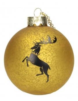 Game of Thrones Glass Ornament Baratheon