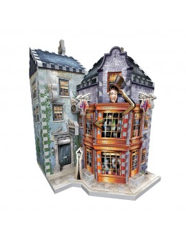 Harry Potter 3D Puzzle DAC Weasley's Wizard Wheezes & Daily Prophet