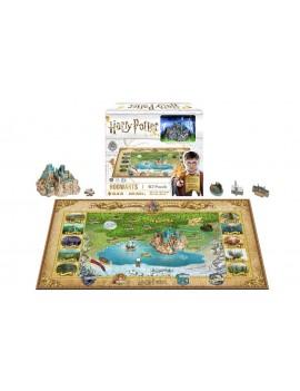Harry Potter 4D Mini Puzzle Hogwarts (500 pieces)