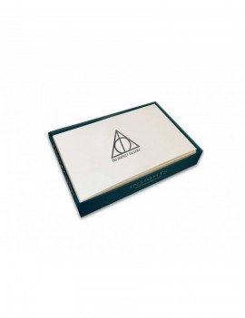 Harry Potter Foil Note Cards 10-Pack Deathly Hallows 89 x 132 mm