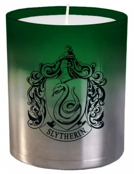 Harry Potter Glass Candle Slytherin 8 x 9 cm