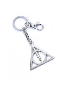 Harry Potter Keychain Deathly Hallows (silver plated)