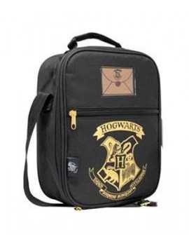 Harry Potter Lunch Bag Hogwarts Black & Gold