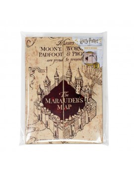 Harry Potter Magnetic Notebook A5 The Marauder's Map