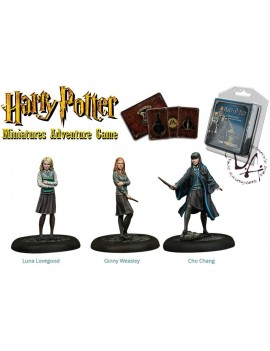 Harry Potter Miniatures 35 mm 3-pack Dumbledore's Army *English Version*