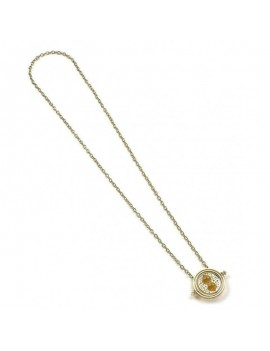 Harry Potter Pendant & Necklace Spinning Time Turner (gold plated)