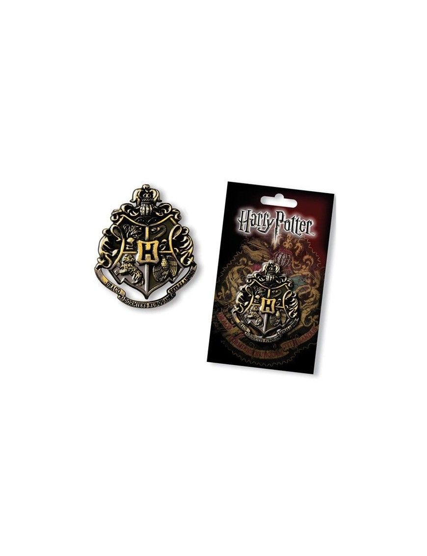 Harry Potter Pin Hogwarts Crest 4 cm