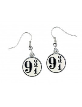 Harry Potter Platform 9 3/4 Earrings (silver plated)
