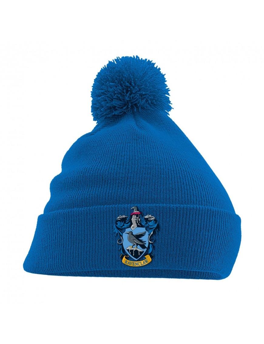 Harry Potter Pom Pom Beanie Ravenclaw Crest Blue
