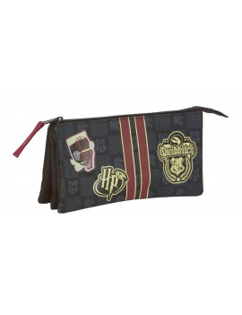 Harry Potter Triple Pencil Case Gryffindor