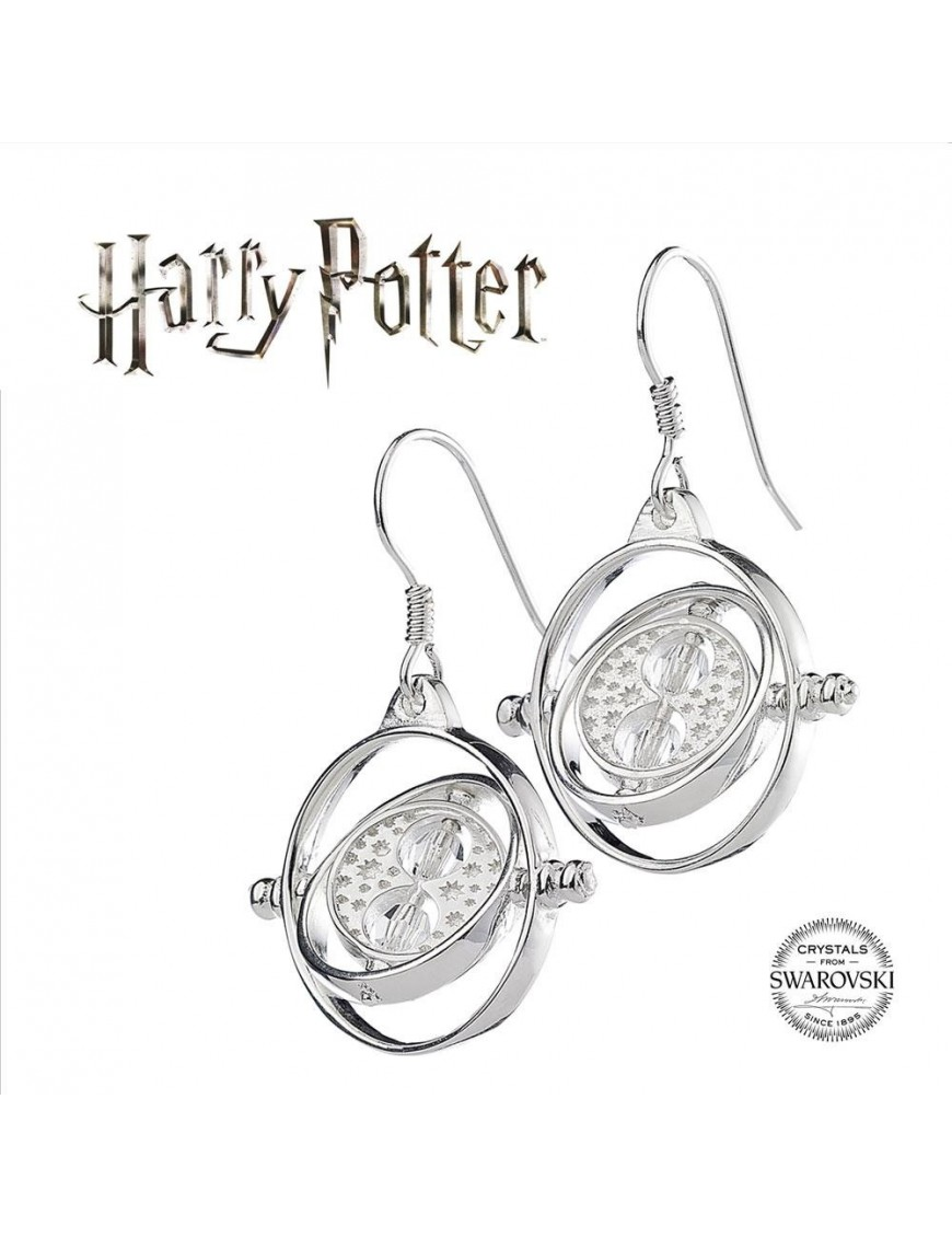 Harry Potter x Swarovski Earrings Zeitumkehrer