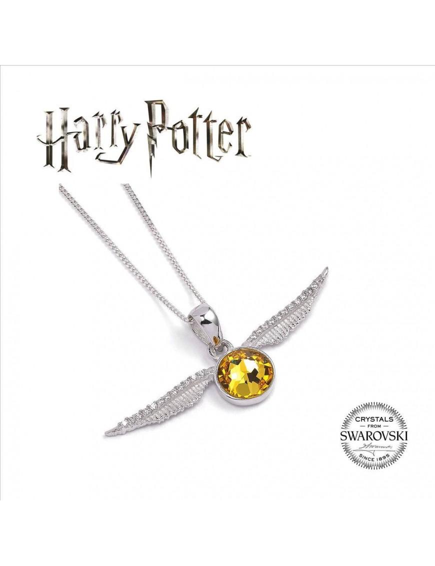 Harry Potter x Swarovski Necklace & Charm Golden Snitch