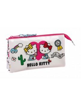 Hello Kitty Pencil Case / Make Up Bag Girl Gang