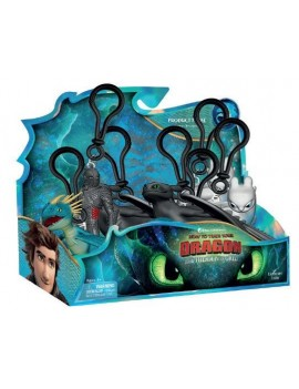 How to Train Your Dragon 3 Clip-On Keychain 7 - 11 cm Display (24)