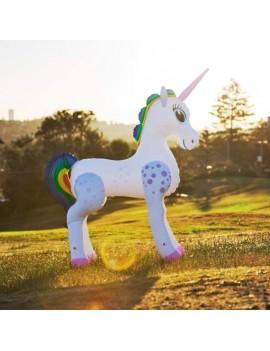 Inflatable Life-Size Unicorn 198 cm