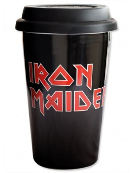 Iron Maiden Travel Mug Logo