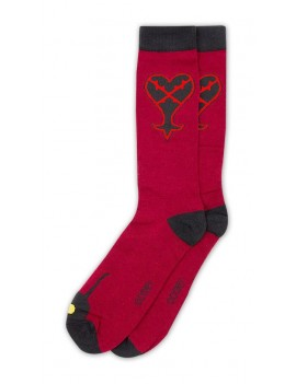 Kingdom Hearts Socks Size 39-46 Case Heartless Exclusive (5)