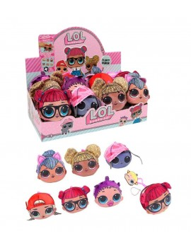 L.O.L. Surprise! Fluky Purse Plush Hangers 11 cm Display (24)