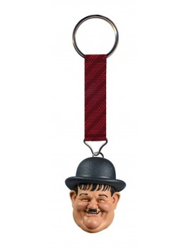 Laurel and Hardy Keychain Oliver Hardy 4 cm