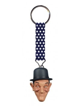 Laurel and Hardy Keychain Stan Laurel 4 cm