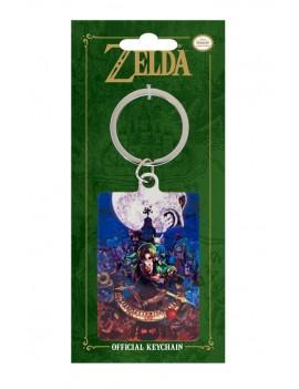 Legend of Zelda Majoras Mask Metal Keychain Moon 6 cm