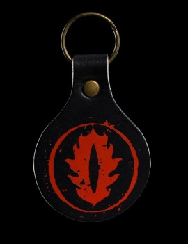 Lord of the Rings Leather Keyring Eye of Sauron
