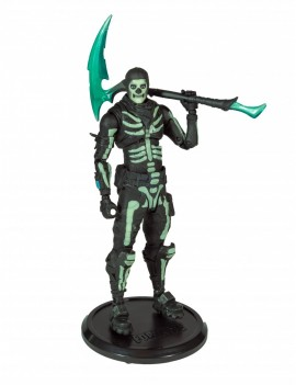 Fortnite Action Figure Green Glow Skull Trooper (Glow-in-the-Dark) Walgreens Exclusive 18 cm