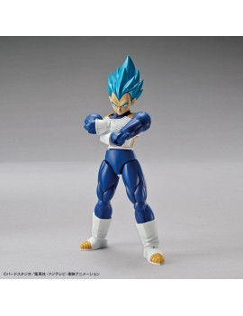 Dragonball Super Figure-rise Standard Plastic Model Kit Super Saiyan God Super Saiyan Vegeta 15 cm