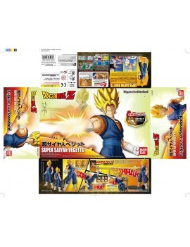 Dragonball Z Figure-rise Standard Plastic Model Kit Super Saiyan Vegetto 15 cm