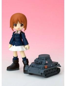 Girls und Panzer Mameshiki Action Figure Miho Nishizumi 10 cm