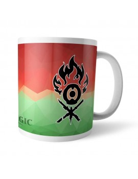 Magic the Gathering Mug GOR Fractal Gruul