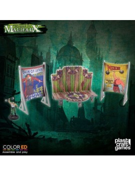 Malifaux ColorED Miniature Gaming Model Kit 32 mm Circus Stage