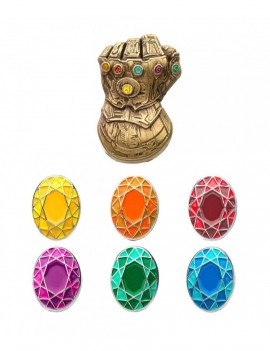 Marvel Collectors Pins 5-Pack Infinity Gauntlet