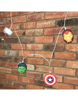 Marvel Comics 2D String Lights Avengers