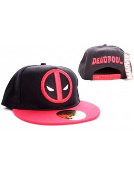 Marvel Comics Adjustable Cap Deadpool Logo