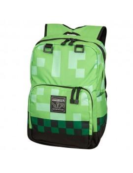 Minecraft Backpack Green Creeper