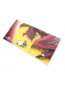 Monster Hunter World Towel Rathalos & Palico Egg Quest 150 x 75 cm