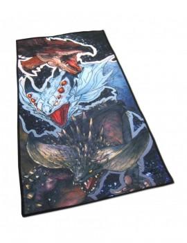 Monster Hunter World Towel Rathalos, Xenojiva & Nergikante 70 x 35 cm
