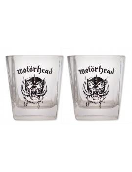 Motorhead Whiskey Shot Glasses 2-Pack