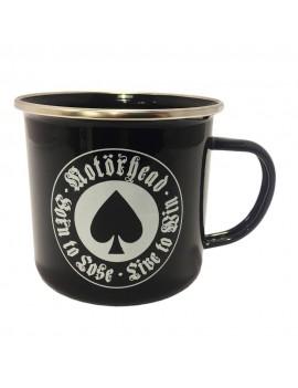Motörhead Enamel Mug Born To Lose