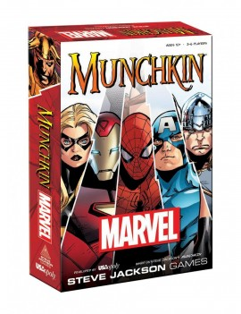 Munchkin Card Game Marvel *English Version*