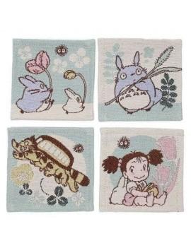My Neighbor Totoro Coaster 4-Pack Characters