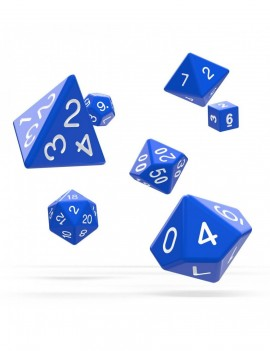 Oakie Doakie Dice RPG Set Solid - Blue (7)
