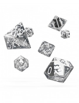 Oakie Doakie Dice RPG Set Translucent - Clear (7)