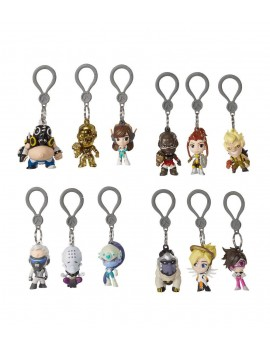 Overwatch Backpack Hangers Mystery Bags Series 2 Display (24)