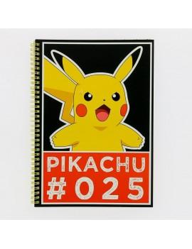 Pokemon Notebook A4 Pikachu