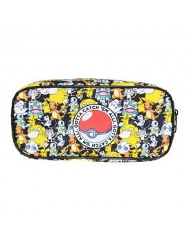 Pokemon Pencil Case / Make Up Bag Gotta Catch Em All